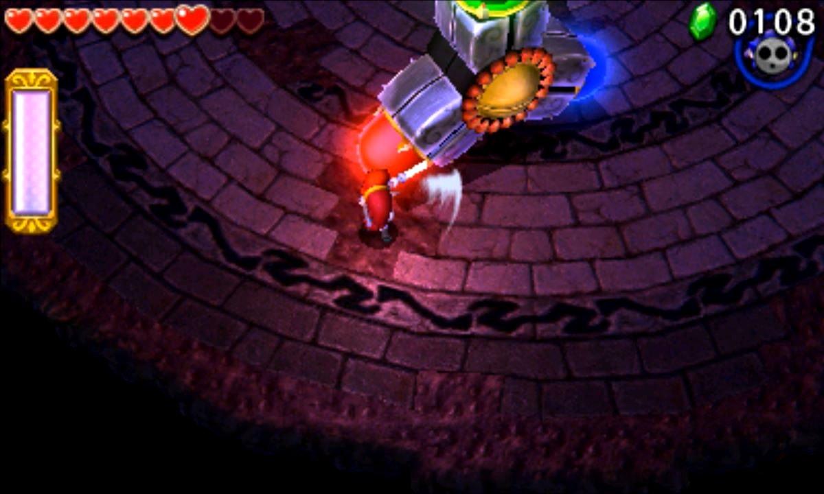 ゼルダの伝説 トライフォース3銃士 攻略 画像 7-4 廃墟エリア 黄泉の神殿
