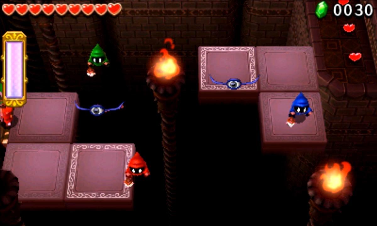 ゼルダの伝説 トライフォース3銃士 攻略 画像 7-3 廃墟エリア なげきの迷宮