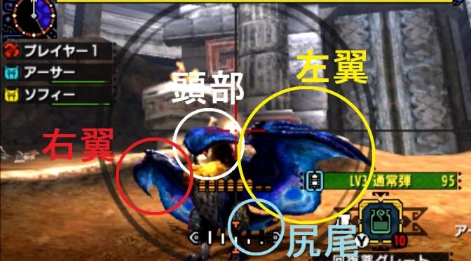モンスターハンター クロス 攻略 部位 破壊 画像 ホロロホルル