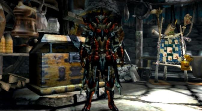 MHX モンハン クロス 攻略 画像 二つ名 黒炎王 リオレウス 装備 外見 スキル