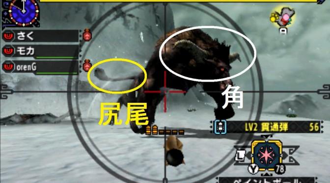 MHX モンハン クロス 攻略 画像 ラージャン 部位 破壊 弱点