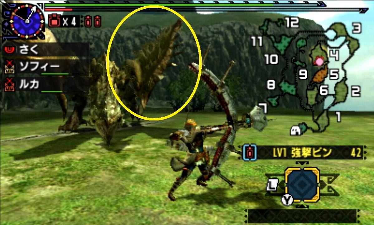 モンハン クロス 攻略 画像 リオレイア 部位 破壊 弱点