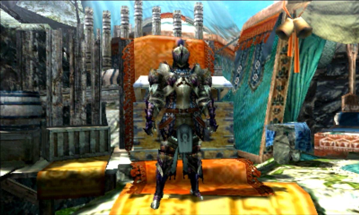 MHX モンハン クロス 攻略 強い オススメ 防具 装備 紫毒姫 片手剣