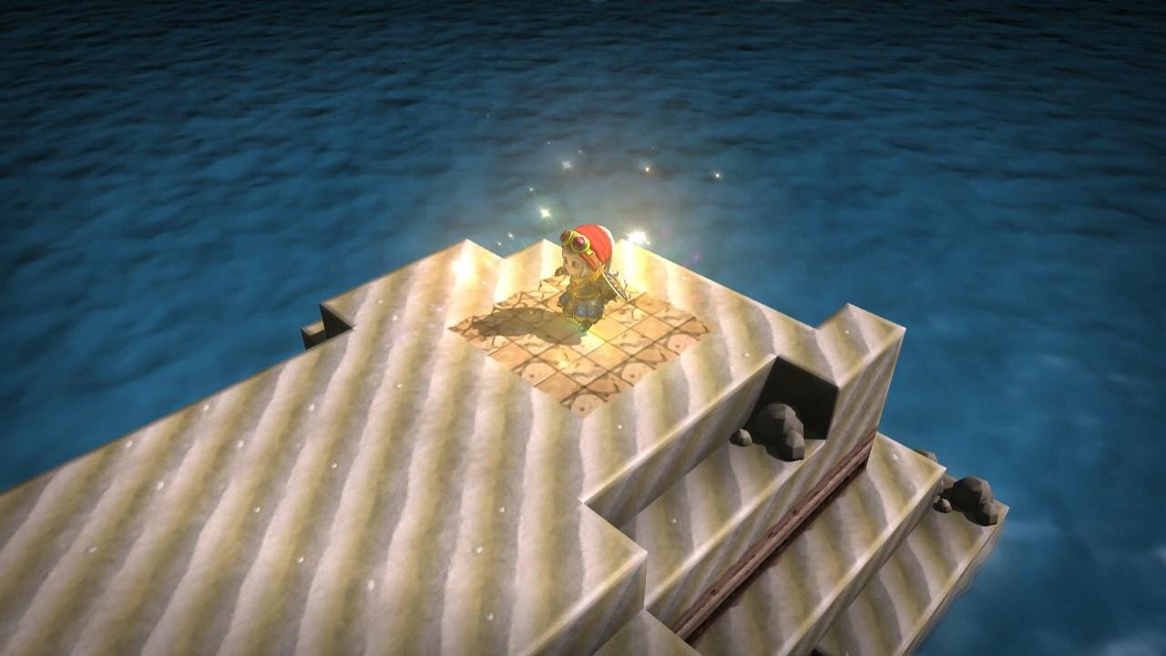 竜王の島へ移動する