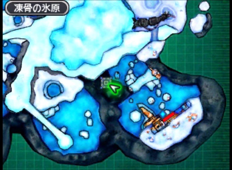 凍骨の氷原の隠しコンテナの場所と位置