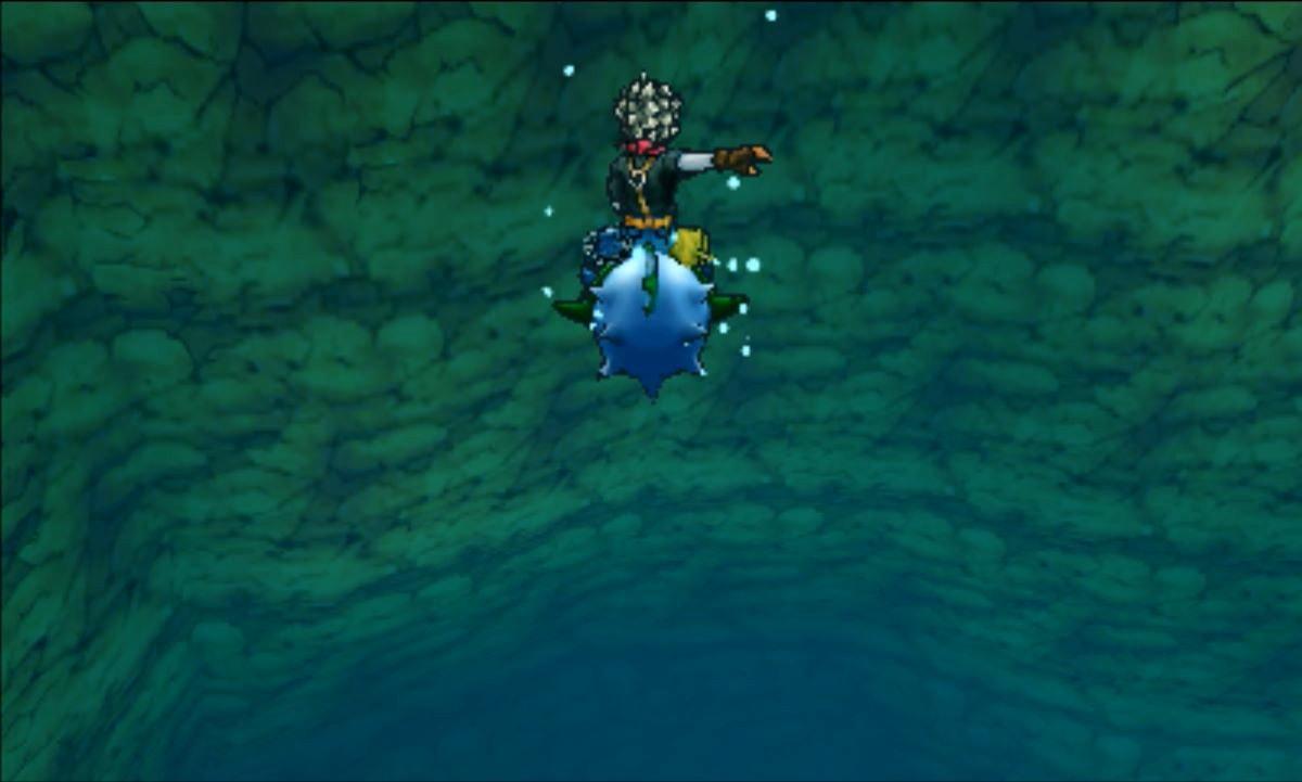 水の中に潜れる