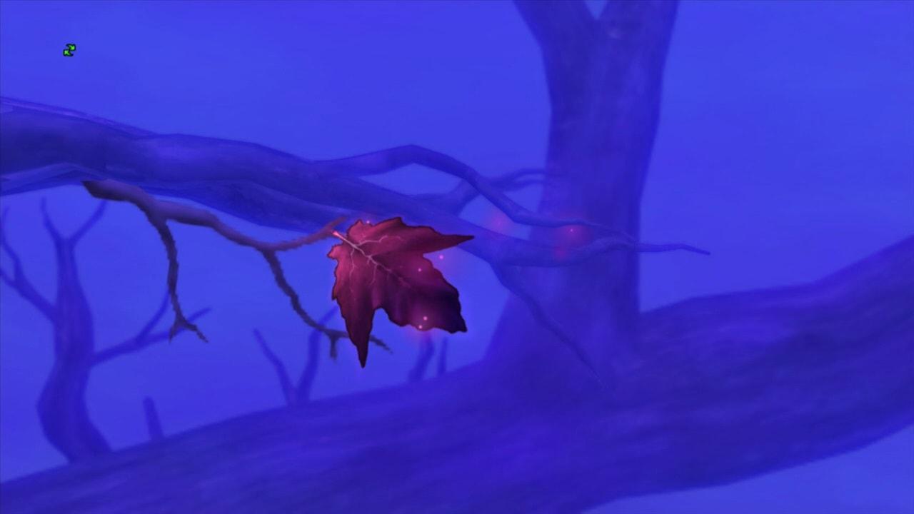 暗黒大樹の葉
