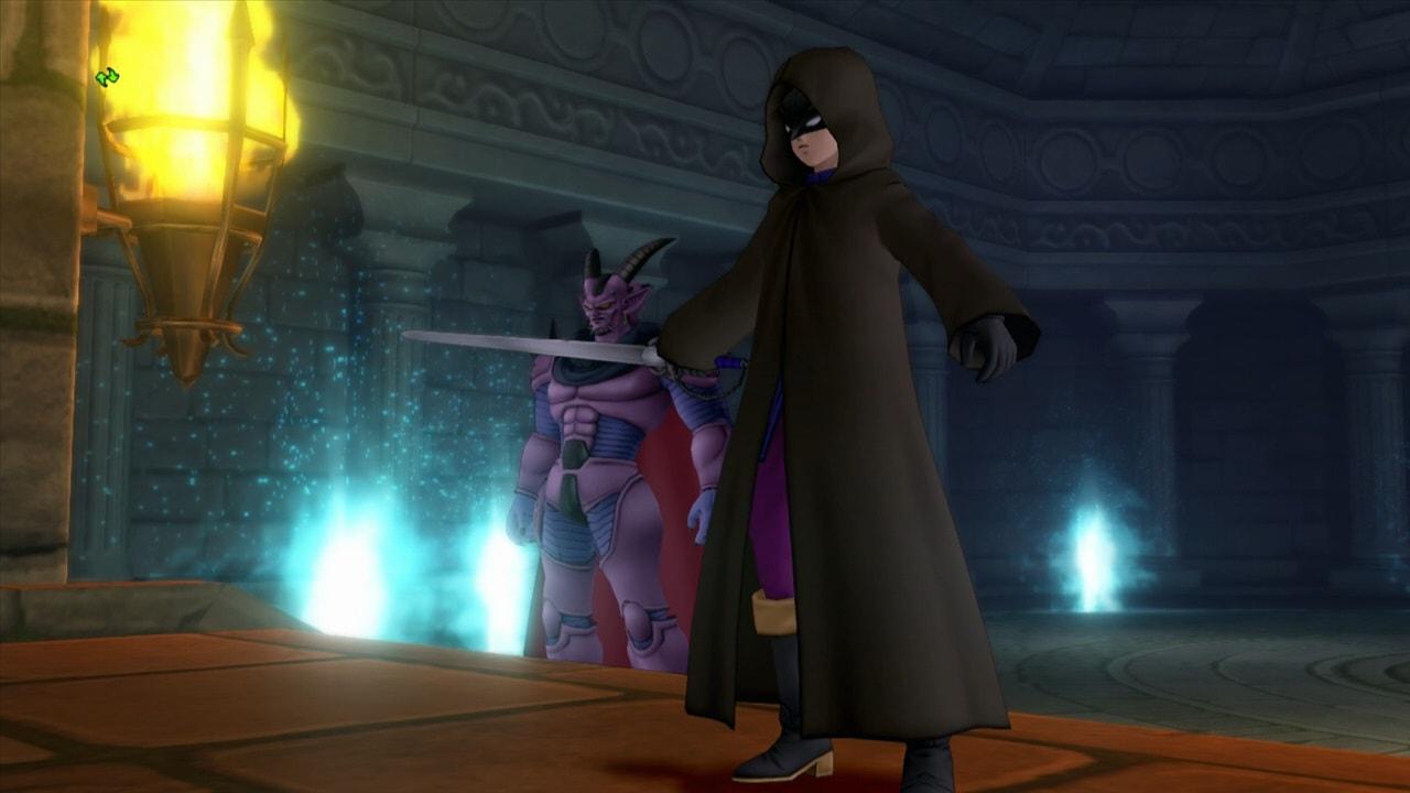 魔元帥ゼルドラドと仮面の男