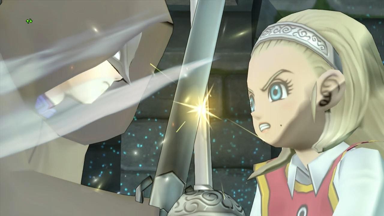 仮面の男VS勇者姫アンルシア