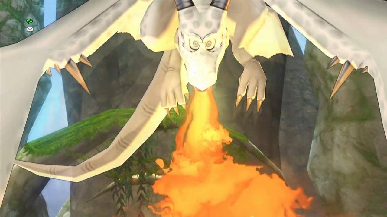 火を吹く飛竜の子供