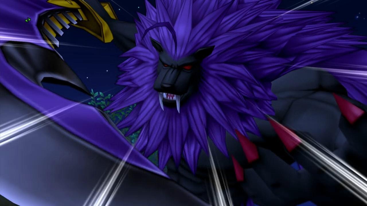紫獅鬼バイロゼオとの対決