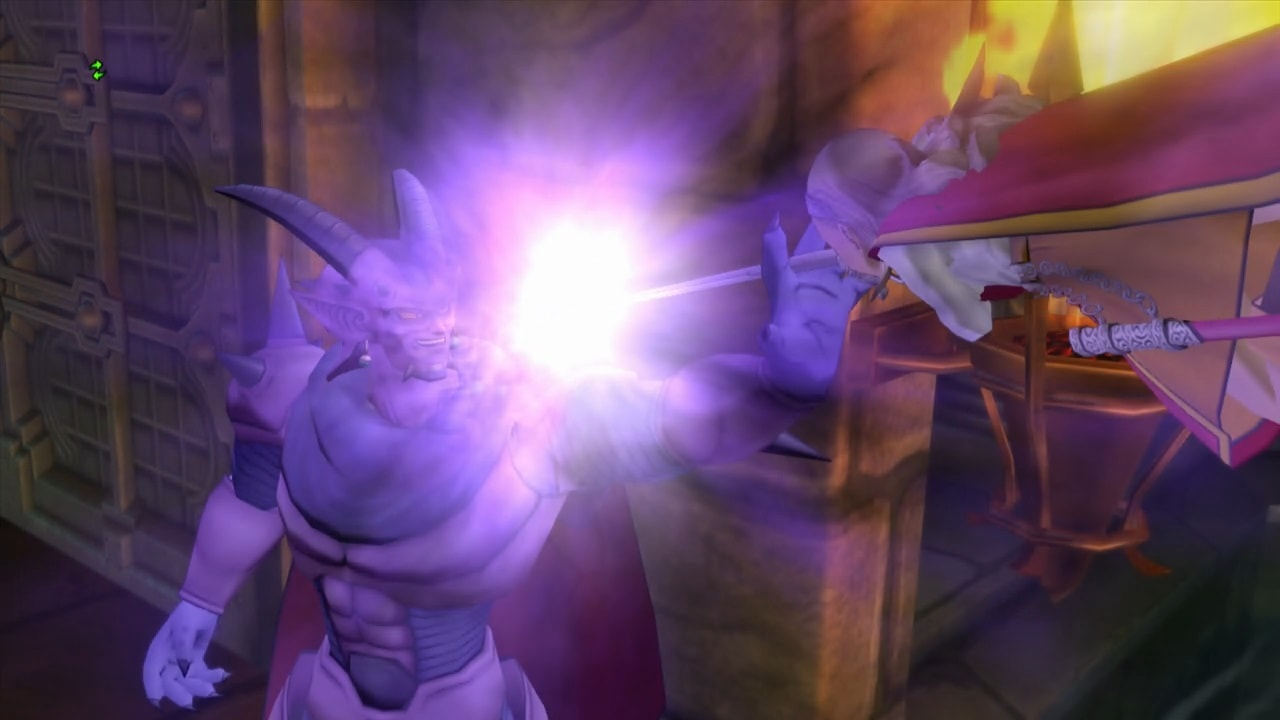 魔元帥ゼルドラドVS勇者姫アンルシア