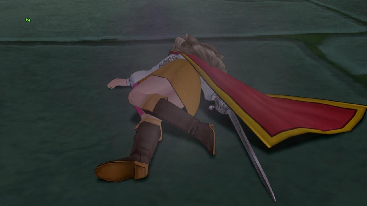 やられる勇者姫アンルシア