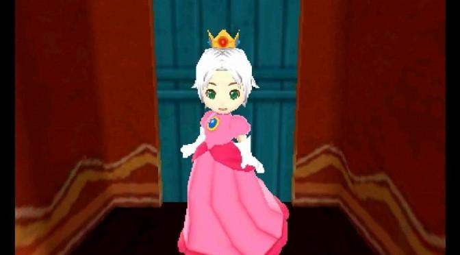ピーチ姫なりきり衣装の外見