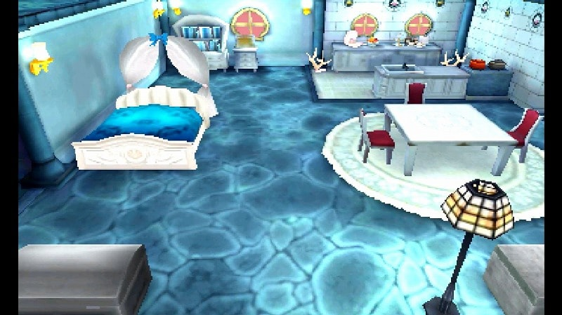 海中風の家・内装