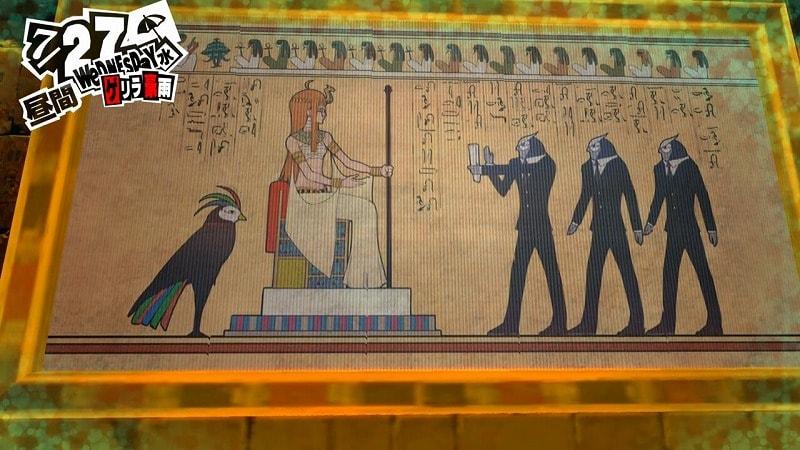 ピラミッドの絵・パズル