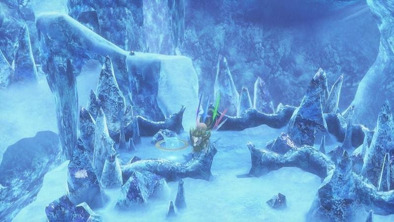 氷のフィールド