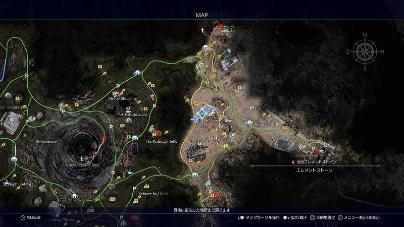 謎めいた地図5