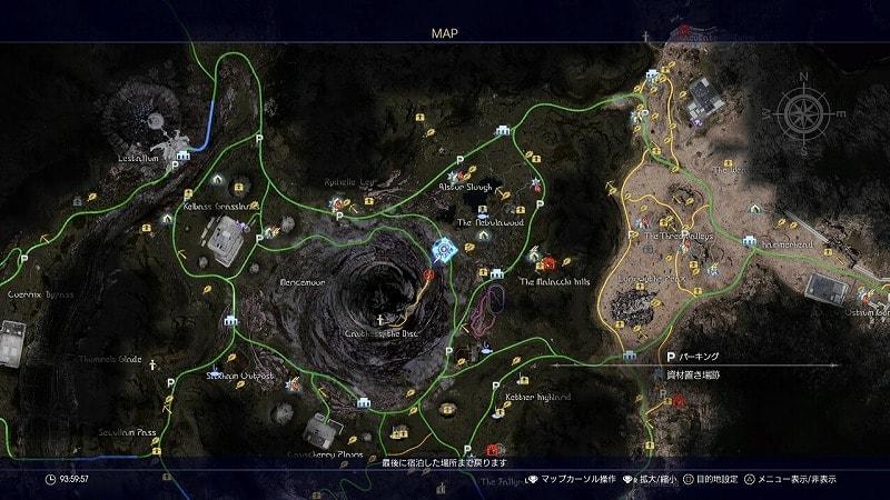 謎めいた地図6