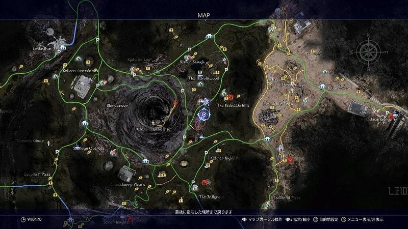 謎めいた地図7