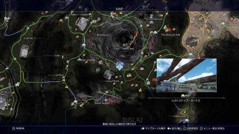謎めいた地図8
