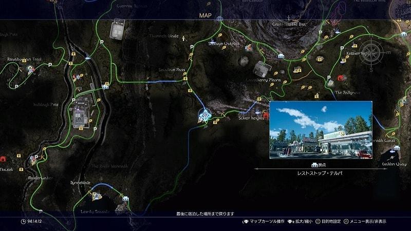 謎めいた地図9