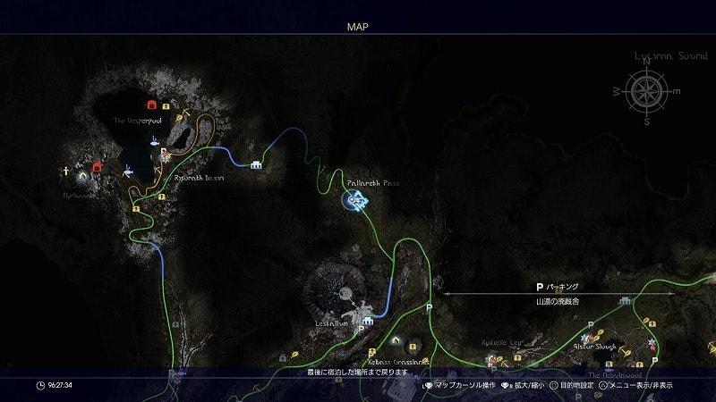 謎めいた地図11