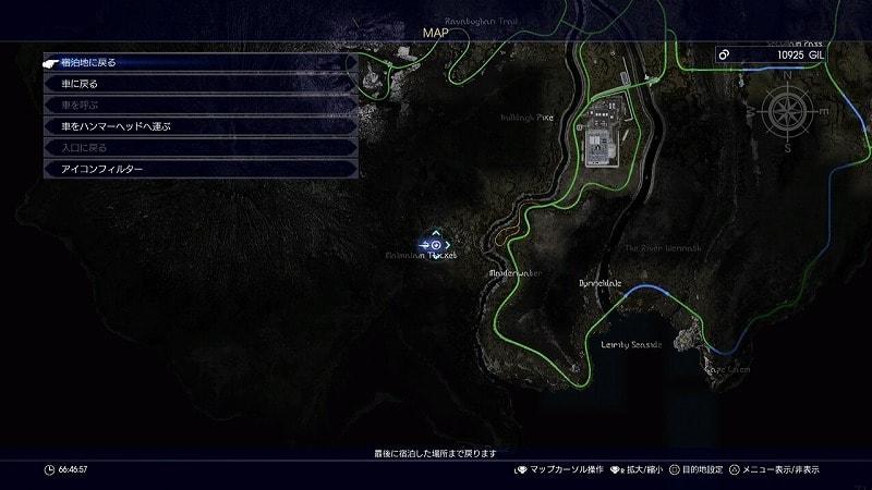 謎めいた地図13