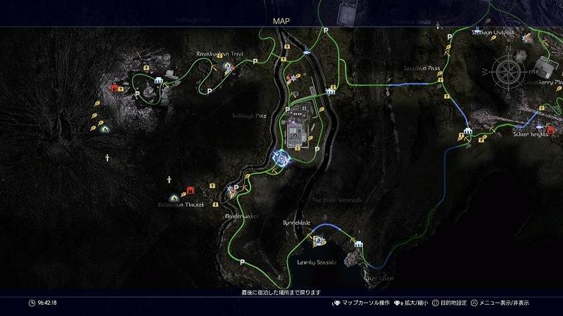 謎めいた地図14