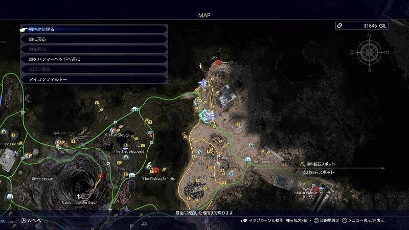 謎めいた地図3