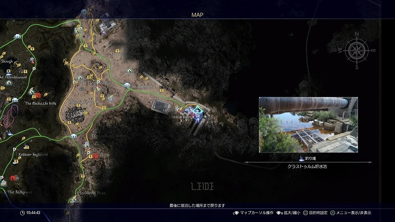 謎めいた地図4