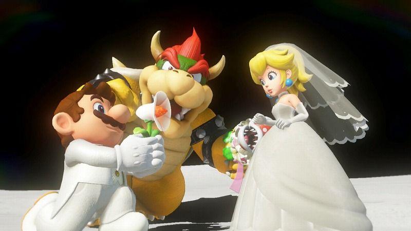 マリオとクッパのプロポーズ対決