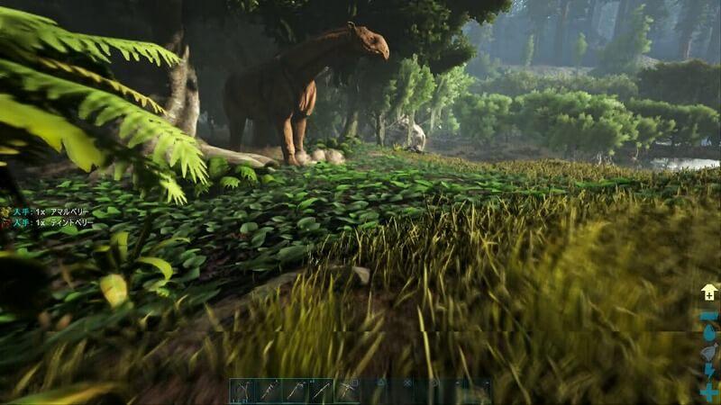 謎の巨大な恐竜