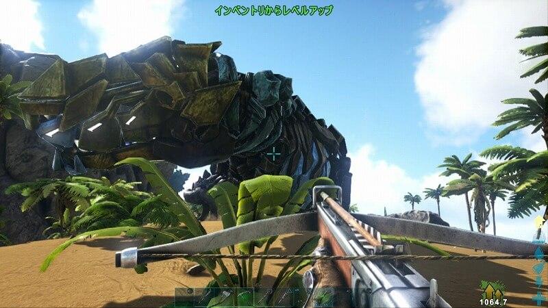 TEKティラノサウルステイム成功