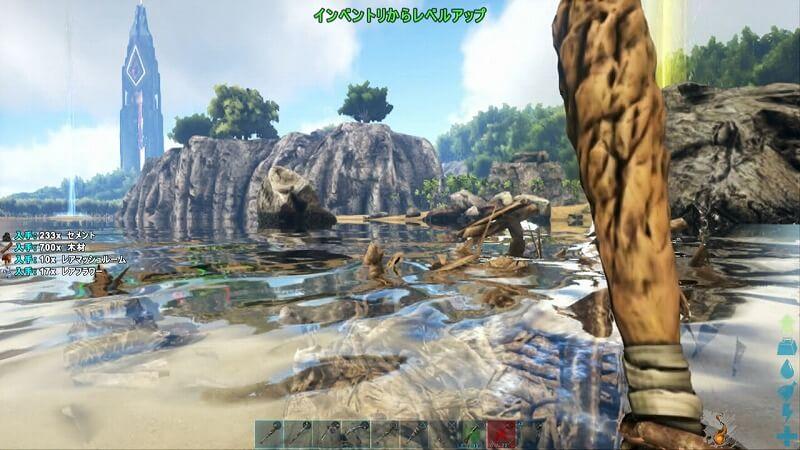 壊れるカストロイデスのダム