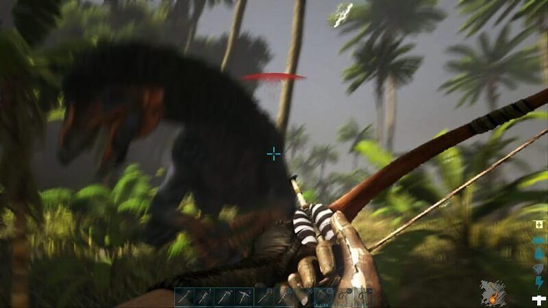 テリジノサウルスの攻撃