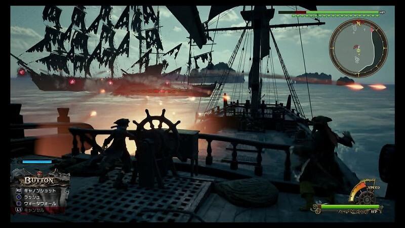 幽霊船団との戦い方