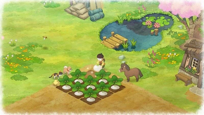 のび太の収穫
